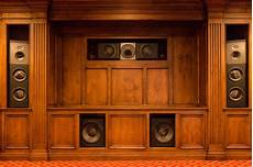 wood cabinet theater speakers traditional home theater