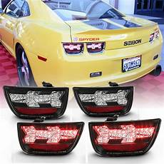 2010 Camaro Lights 2010 2013 Chevy Camaro 4xpcs Led Black Diy Lights
