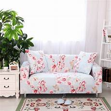 sweet pink floral sofa cover stretch universal elastic