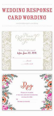 Wedding Invitations And Response Cards Wedding Response Card Wording