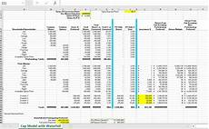 Excel Startup Template Excel Startup Cap Table Template Waterfall Analysis