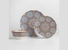 Fez Moroccan Tile Dinnerware   World Market
