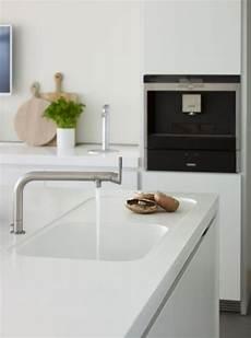 corian kitchen white corian worktop with moulded integrated kitchen sink