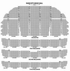 Radio City Theater Seating Chart Radio City Christmas Spectacular Tickets Show Info For