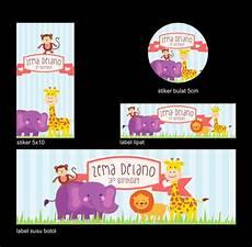 ataro designs desain ulang tahun anak tema animal