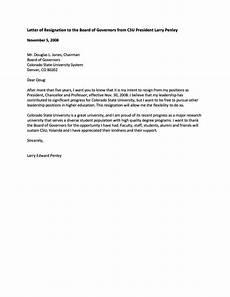 Resigning From A Board Board Member Application Template Sampletemplatess