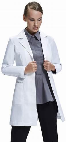 2x lab coats ta s lab coat tailored fit feminine design white 33