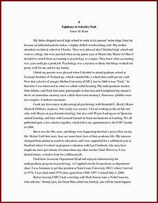 Example Autobiography Essay 30 An Example Of An Autobiography In 2020 Essay Examples