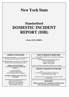 Domestic Incident Report Domestic Incident Report Printable Pdf Download