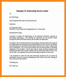 Information Technology Cover Letters 10 11 Information Technology Cover Letter Samples