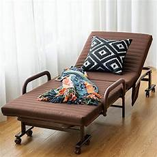 giantex folding guest bed frame with mattress foldaway 3