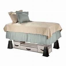 kct 8 stackable adjuster bed riser