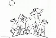 spirit free coloring pages the horses free