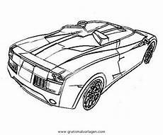Rennwagen Malvorlagen Quest Lamborghini 06 Gratis Malvorlage In Autos2