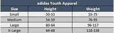 Adidas Crew Socks Size Chart Sizing Chart Soccer Village