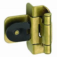 amerock 2 pack 3 8 in antique gold self closing lift