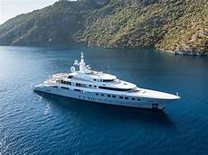 luxury yachts at yachts miami photos features