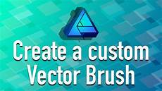 Affinity Designer Vector Mask Affinity Designer Create A Custom Vector Brush Youtube
