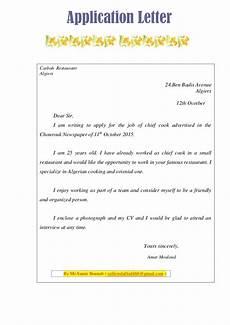 Application Letter Vs Cover Letter Text Sample Application Letter