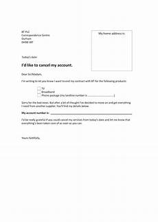 Cancellation Of Contract Cancelling A Service Contract Letter Sample Letter Template