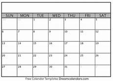 Blank School Calendar Blank Calendar Templates You Can Create Your Activities