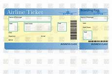Blank Airline Ticket Template 29 Images Of Airplane Ticket Template Helmettown Com