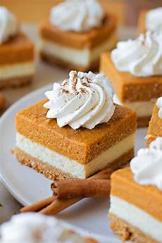 pumpkin cheesecake bars lil