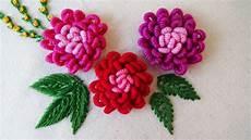 embroidery bullion knot stitch variation