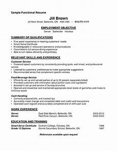 Functional Summary Examples Sample Functional Resume By 2fqjda5 Chainimage