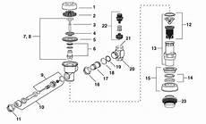 Sloan Diaphragm Chart Sloan Royal Flushometer Parts Breakdown Diagrams Old New