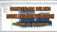 Analysis And Design Of Buildings Modelling Analysis And Design Of Rcc Building Using Etabs