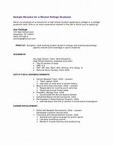 Resume For High School Student With No Work Experience The Most High School Student Resume With No Work