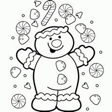 gingerbread coloring page free recipes