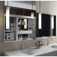 robern uplift series 27 quot x 48 quot mirrored wall mounted