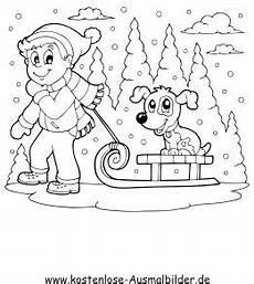 Malvorlagen Winter Gratis Ausmalbilder Winter Ausmalbilder F 252 R Kinder