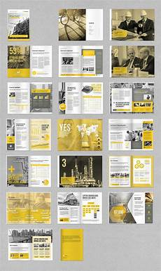 Annual Report Layout Design Annual Report By Mrtemplater On Creativemarket
