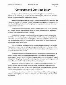 Comparison Essays Topics 004 Comparison Essays Essay Introduction Help Write