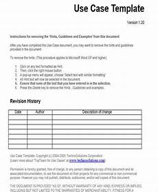 Use Case Template Word 17 Use Case Templates In Word Free Amp Premium Templates