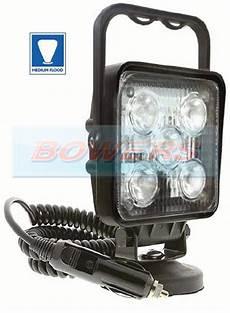 12v Led Magnetic Work Light 12v 24v Ring Rcv9597 Truckmaster 5 Led Square Magnetic