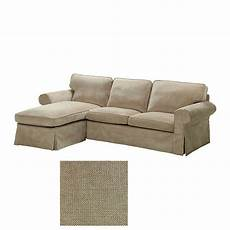 ikea ektorp loveseat and chaise lounge sofa slipcover