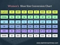 Men And Women Shoe Conversion Chart Shoe Size Conversion Chart Starlink Shoe Making Machine