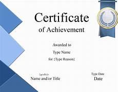 Free Online Certificates Certificate Templates