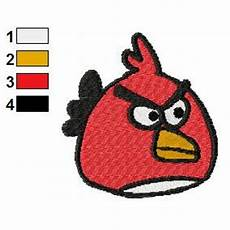 Angry Bird Designs Angry Birds Embroidery Design 045