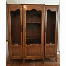 baker furniture provincial wall china cabinet