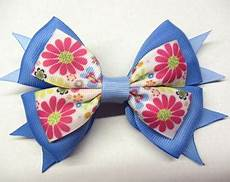 Big Light Blue Hair Bow Big Pink Hair Bow Light Pink Hair Bow Back To School Bow Over