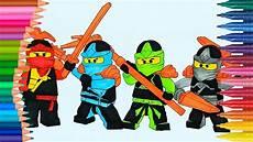 lego ninjago come disegnare e colorare disegni da