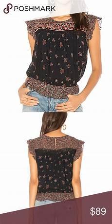 joie silk blouse layering joie warin silk top in bloom nwt silk top