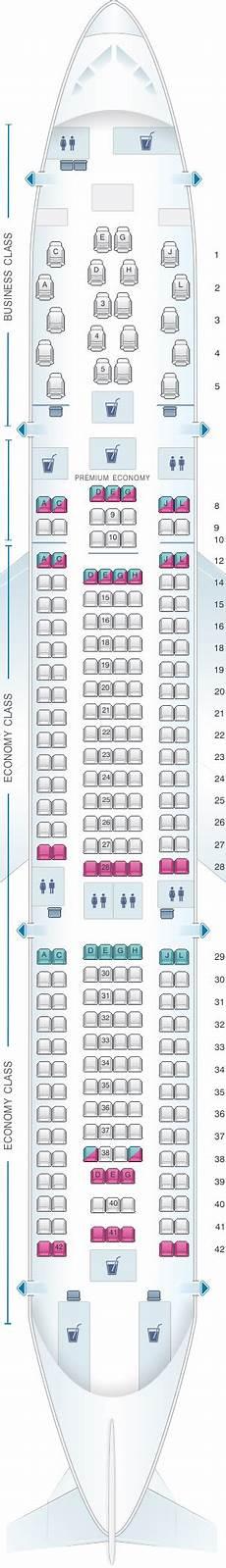 Alitalia Flight 631 Seating Chart Plan De Cabine Alitalia Airlines Air One Airbus A330 200