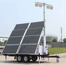 Solar Lighting Jobs Solar Light Tower 57 6 Kwh
