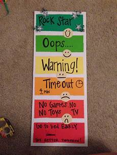 Toddler Behavior Chart Ideas Behavior Chart Worked So Well At School How About Home